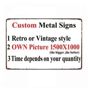 Custom Made Garage Signs