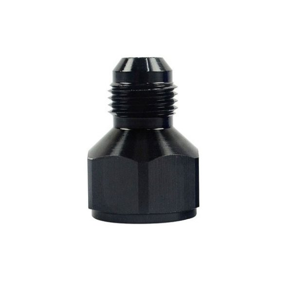 8AN Female To 6AN Male Reducer Adapter Fitting Black